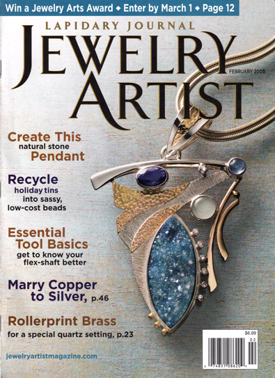 Lapidary Journal Jewelry Artist Magazine Back Issues Complete Year 2004